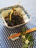梅風味の葉唐辛子の佃煮