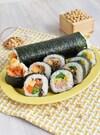 菜の花の巻き寿司*サラダとキンパのハーフ&ハーフ#節分に