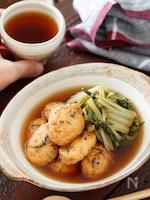 白身魚揚げと白菜の含め煮【#作り置き#包丁不要#レンジ】