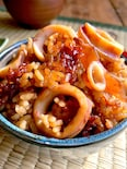 幸せ♡【函館のイカ飯の味を冷凍イカと白米でそれっぽく‼︎】