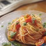 プロ直伝!冷たいトマトソースのスパゲッティ
