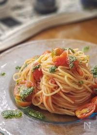 『プロ直伝!冷たいトマトソースのスパゲッティ』