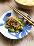 【常備菜】ちりめんじゃこと枝豆の生姜醤油炒め