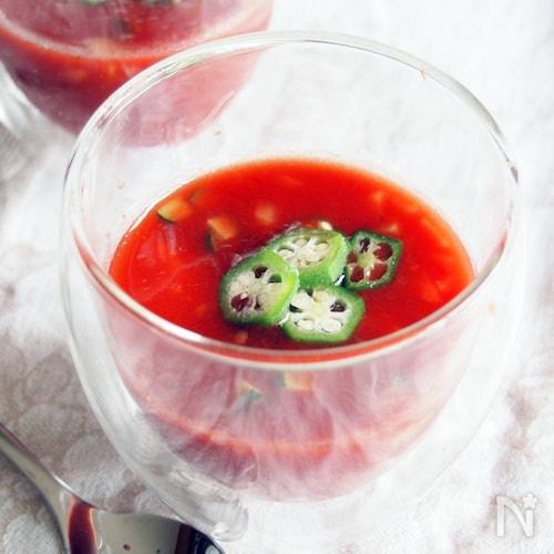 冷製トマトスープ・瞬速美容チャージ系