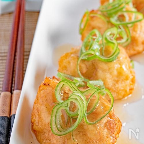 【やわらか〜い】ふわふわ豆腐揚げ団子