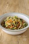 白菜とにんじんのごまポンサラダ