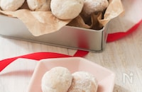 トースターでOK!米粉のスノーボールクッキー