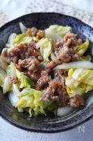 旬の野菜を食べよう!春キャベツと牛肉のオイスターソース炒め!