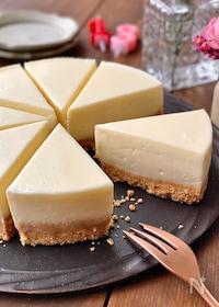 『とろける濃厚レアチーズケーキ』