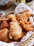 ザクッジュワッ♪とまらない美味しさ♡鶏むね肉の米粉唐揚げ