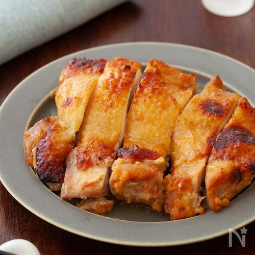 鶏肉の味噌粕漬け焼き