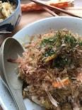 【炊飯器レシピ】簡単♡味付け2つ♡スイッチ1つでそば飯♡