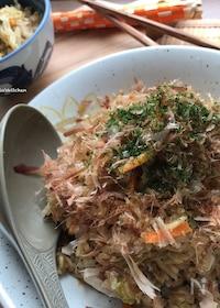 『【炊飯器レシピ】簡単♡味付け2つ♡スイッチ1つでそば飯♡』