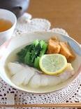 フライパン1つで出来る小松菜入り煮魚