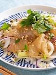 おうちでごちそう中華!鯛の中華風カルパッチョ