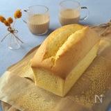 しっとりふわふわっ!! チーズ カステラ・パウンド