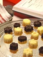 【バターなし】ホロッとクッキーのチョコがけ