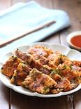 豆腐と豚バラのチヂミ