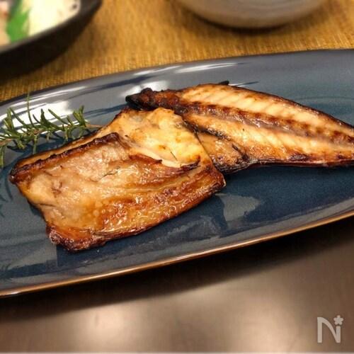 ワイン鯖(さばのワイン漬け)焼き