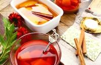 【ホットワイン風】 オレンジのシロップ煮 & オレンジティー