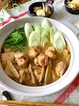 簡単なのにコクと旨味しっかり‼︎【鶏ごぼう鍋】旨辛みそ味