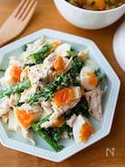 卵たっぷり!『チキンとブロッコリーのデリ風サラダ』#作り置き