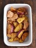 作りおきOK!鶏むね肉とさつまいものバター醤油炒め