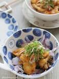 カリカリ食感♪ 鶏皮ポン酢