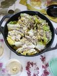 旨味たっぷり!白菜と豚肉のミルフィーユ蒸し