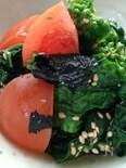 【サク飯】ブロッコリーと海苔胡麻和え