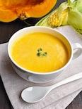 「冷」でも「温」でも!かぼちゃとコーンのスープ