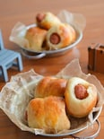 発酵不要!ホットケーキミックスと豆腐で作るプチウインナーパン