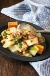 《レシピ》白菜と厚揚げ、豚肉の生姜とろみ餡。