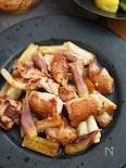 暑い日に最高!鶏肉と長ねぎとみょうがのスタミナぽん酢炒め