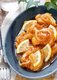 『むね肉のレモン南蛮漬け【#作り置き #お弁当 #揚げない】』
