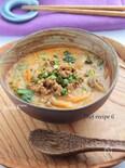 坦々ごま味噌豆乳スープ§ダイエットスープ