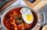 豚肉入り夏野菜のトマト煮込み(ラタトゥイユ)
