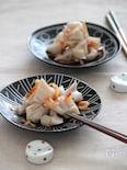 レンコンの桜えび炒め。