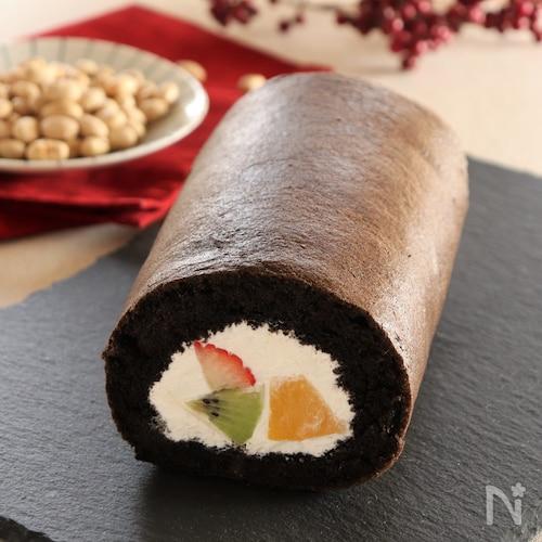 恵方ロールケーキ