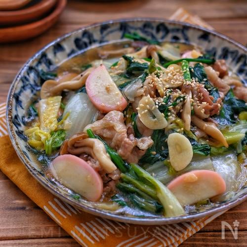 野菜たっぷり!*スタミナ八宝菜*無水調理で旨味凝縮!