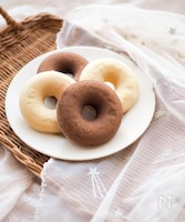 【卵・乳・油不使用】優しい米粉のドーナツ
