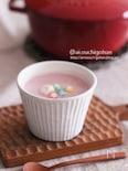 生クリーム不要!春色赤かぶのポタージュスープ♡