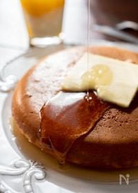 『ふかふか!シンプルだけど絶品♡ホットケーキ』