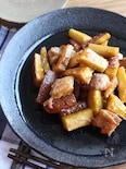 さつま芋と鶏肉の甘酢あん