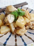 鶏肉と長芋の味噌炒め、コチュジャン風味
