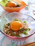 新玉葱と納豆のサッパリおつまみ