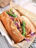 豚生姜焼きサンド