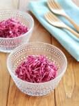 紫キャベツのはちみつりんご酢マリネ