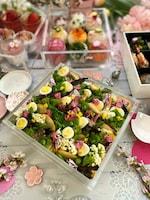 焼き春キャベツのごちそうサラダ