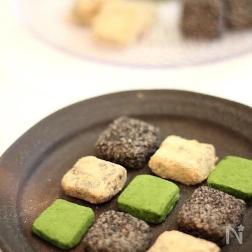 3種の和・生チョコレート